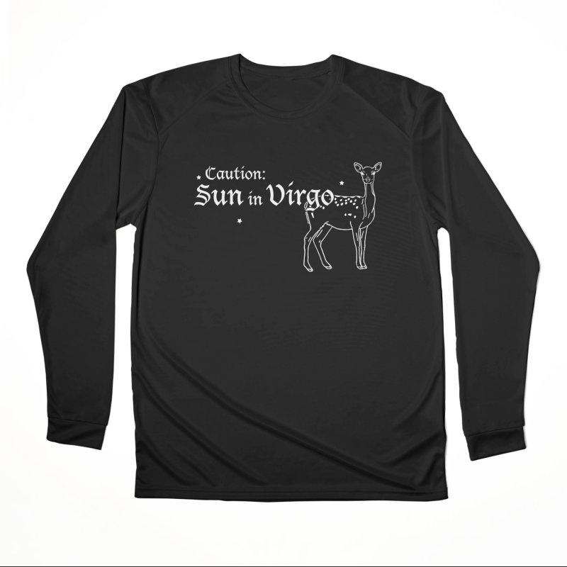 Caution: Sun in Virgo Women's Longsleeve T-Shirt by Naomi Mariko Creates