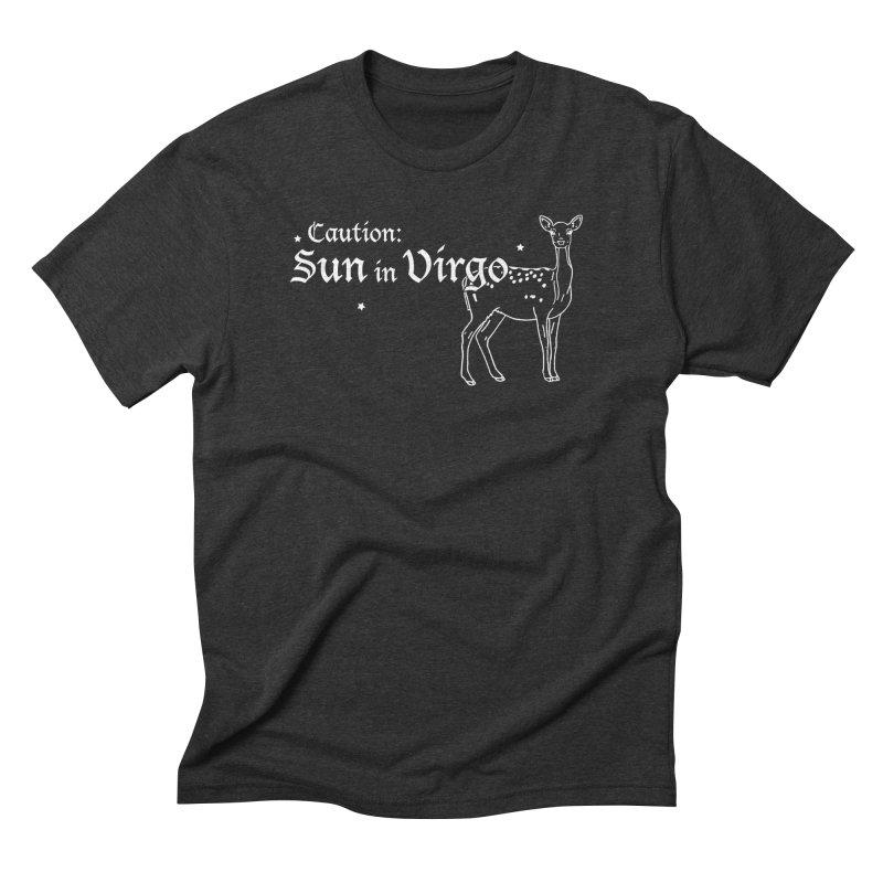 Caution: Sun in Virgo Men's T-Shirt by Naomi Mariko Creates