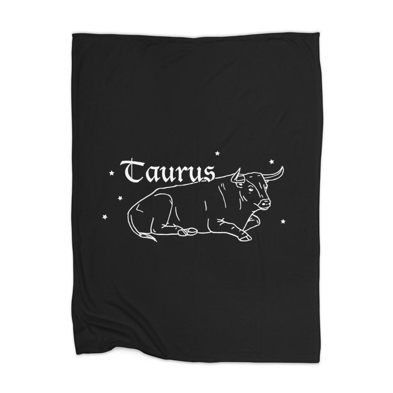 Taurus Home Blanket by Naomi Mariko Creates