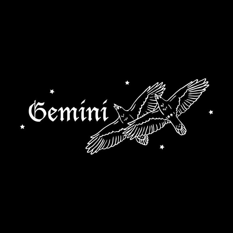 Gemini Men's Zip-Up Hoody by Naomi Mariko Creates