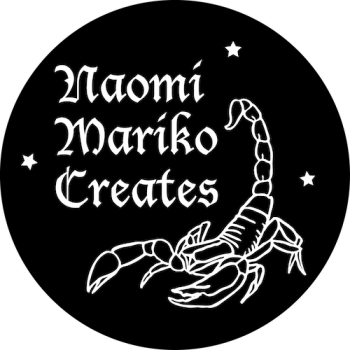 Naomi Mariko Creates Logo