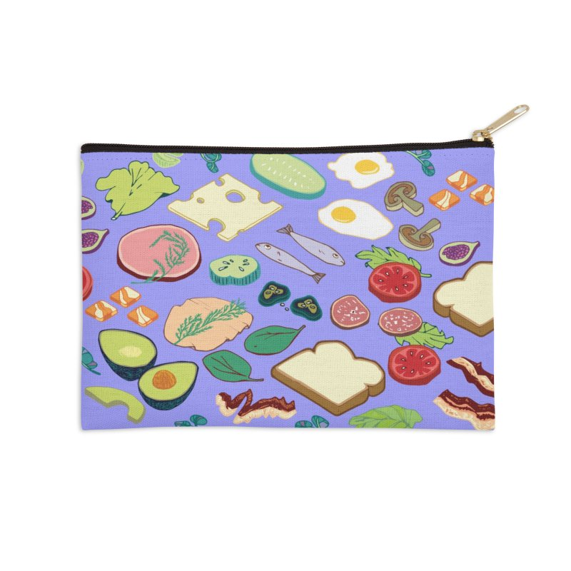 Some Assembly Required Accessories Zip Pouch by bad arithmetic