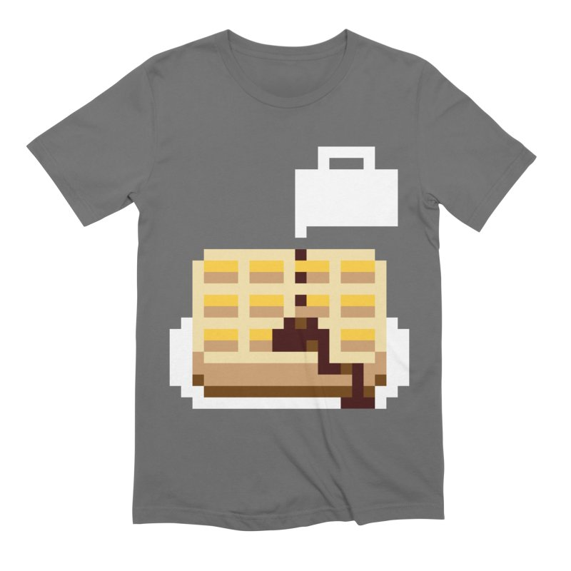 8-Bit Eggo Men's Extra Soft T-Shirt by bad arithmetic