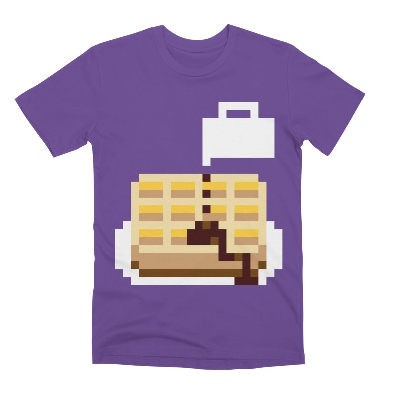 8-Bit Eggo Men's Premium T-Shirt by bad arithmetic