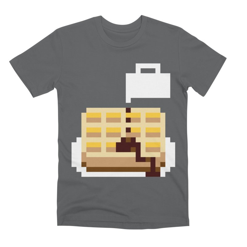8-Bit Eggo Men's Premium T-Shirt by bad arithmetic