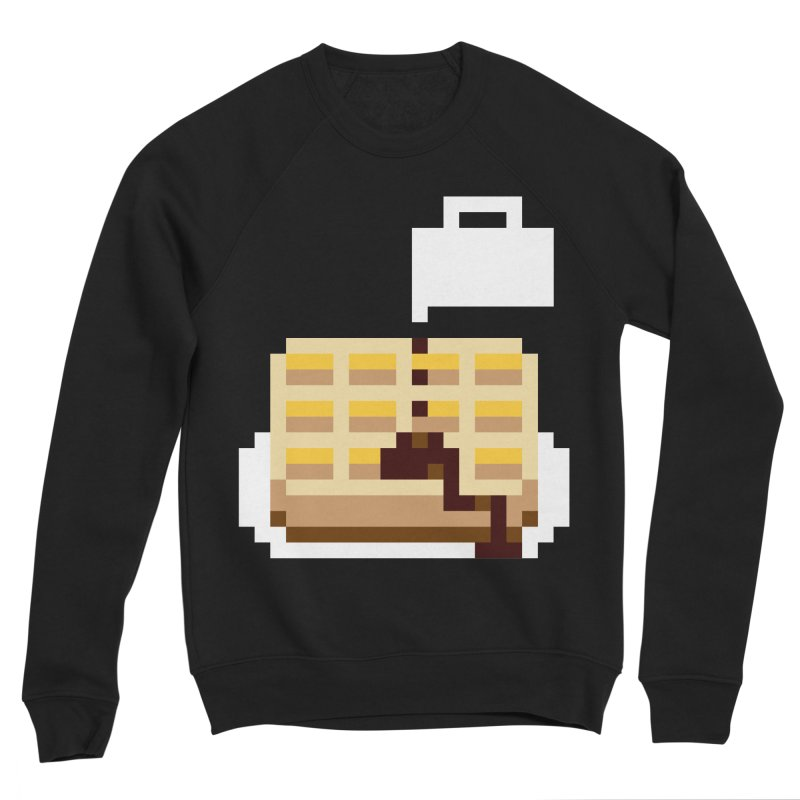 8-Bit Eggo Women's Sweatshirt by bad arithmetic