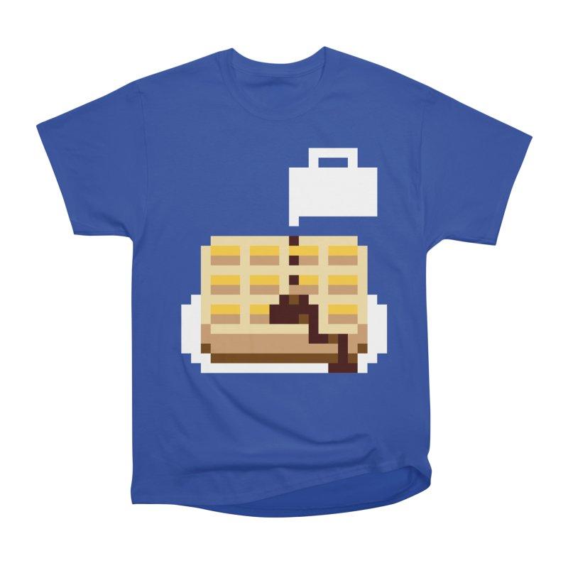 8-Bit Eggo Men's T-Shirt by bad arithmetic
