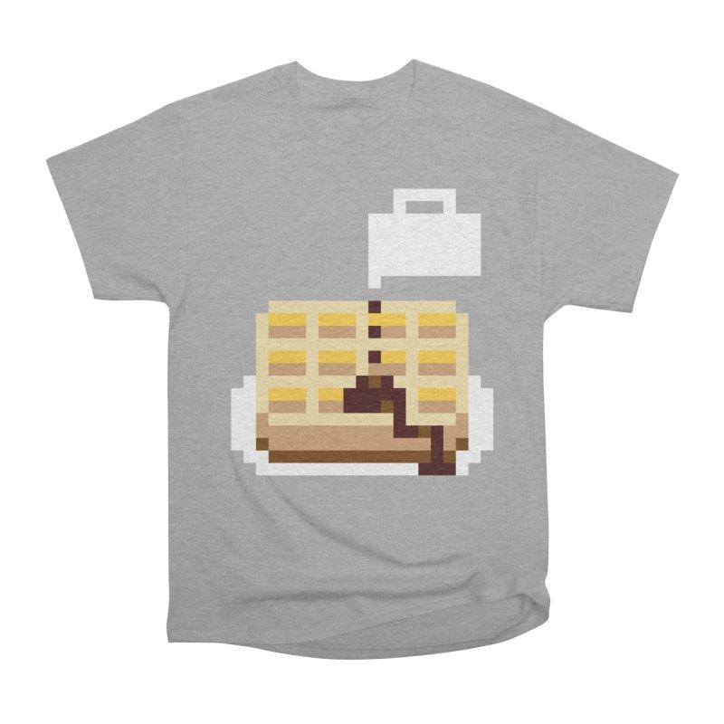 8-Bit Eggo Men's Heavyweight T-Shirt by napiform clip art