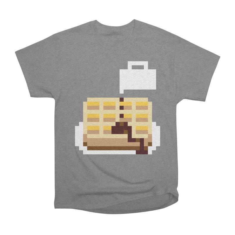 8-Bit Eggo Women's Heavyweight Unisex T-Shirt by bad arithmetic