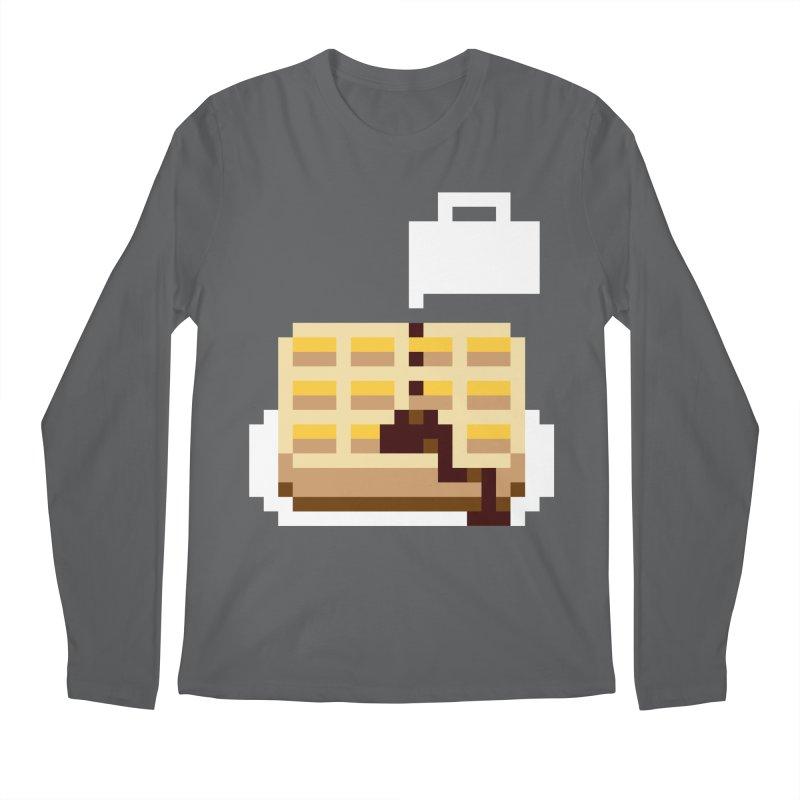 8-Bit Eggo Men's Longsleeve T-Shirt by bad arithmetic
