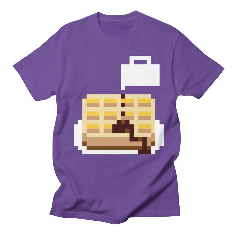 8-Bit Eggo Women's Regular Unisex T-Shirt by bad arithmetic