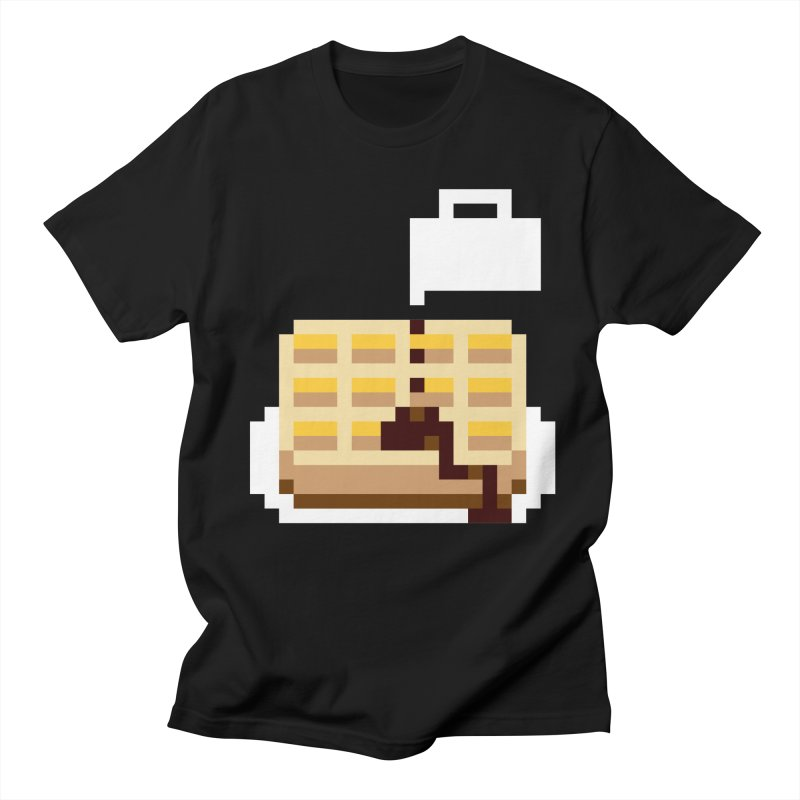 8-Bit Eggo Men's T-Shirt by bad arithmetic