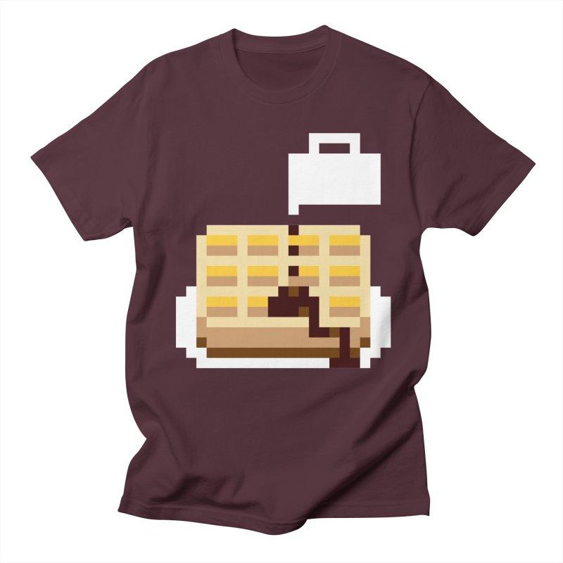 8-Bit Eggo Men's Regular T-Shirt by bad arithmetic