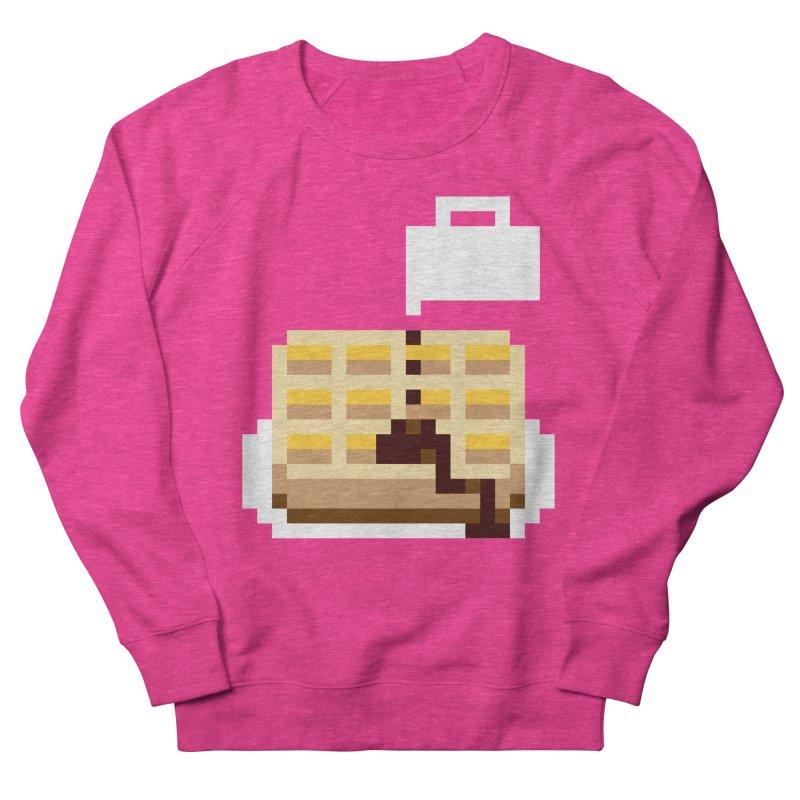 8-Bit Eggo Women's French Terry Sweatshirt by bad arithmetic