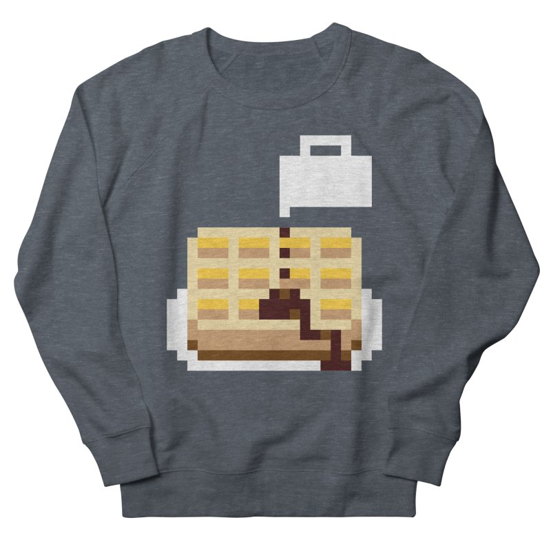 8-Bit Eggo Men's French Terry Sweatshirt by napiform clip art
