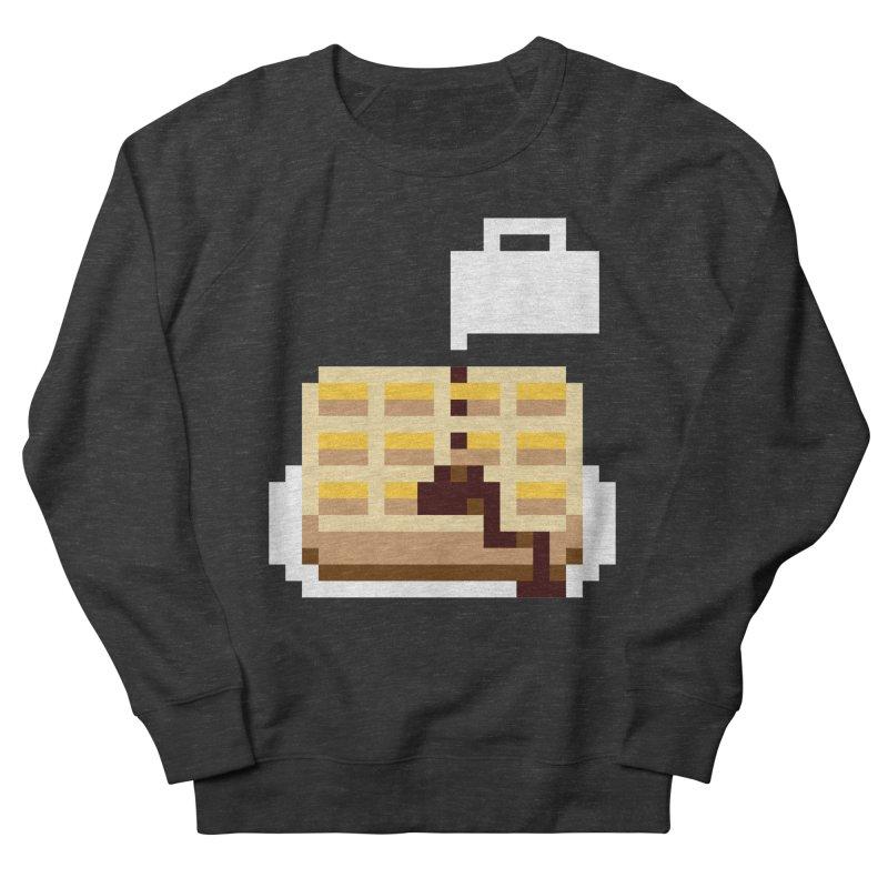 8-Bit Eggo Men's French Terry Sweatshirt by bad arithmetic