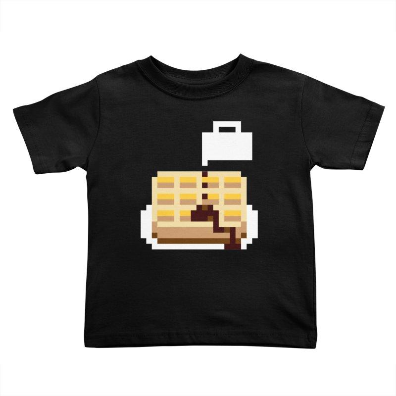 8-Bit Eggo Kids Toddler T-Shirt by napiform clip art