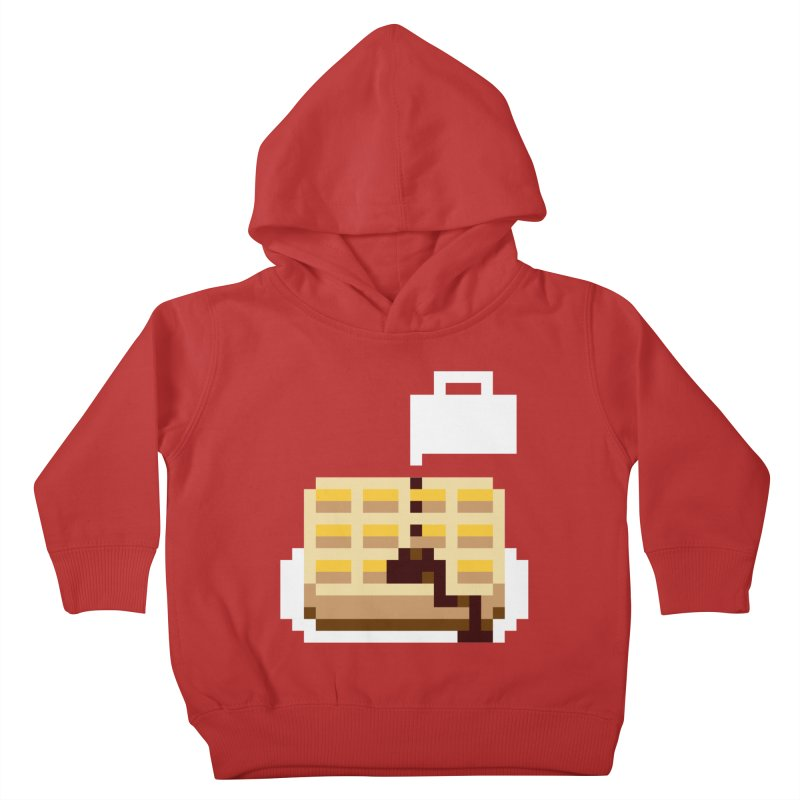 8-Bit Eggo Kids Toddler Pullover Hoody by bad arithmetic