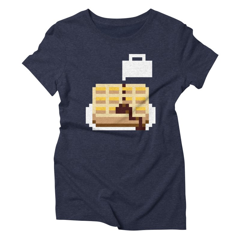 8-Bit Eggo Women's T-Shirt by bad arithmetic