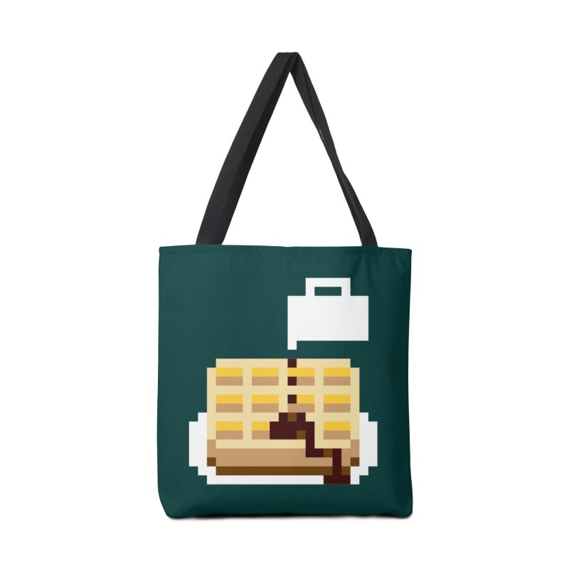8-Bit Eggo Accessories Tote Bag Bag by napiform clip art
