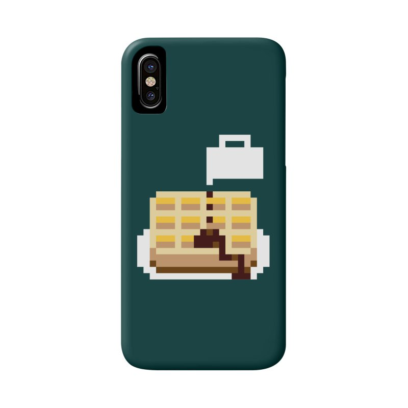 8-Bit Eggo Accessories Phone Case by napiform clip art