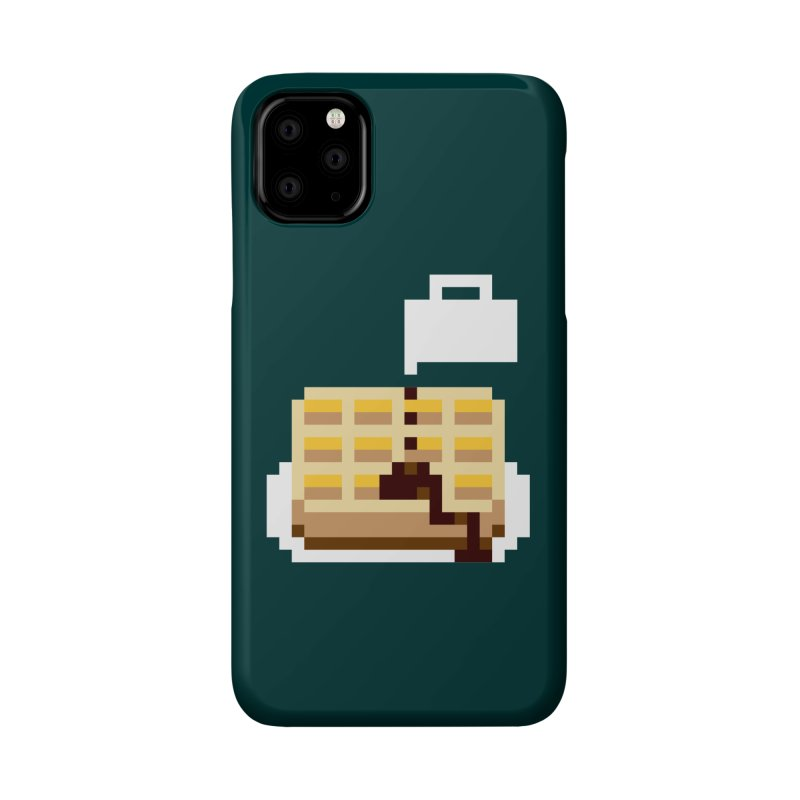 8-Bit Eggo Accessories Phone Case by bad arithmetic