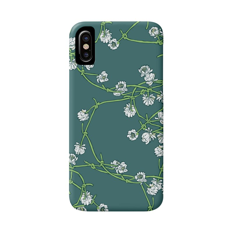Daisy Chain in iPhone X / XS Phone Case Slim by napiform clip art
