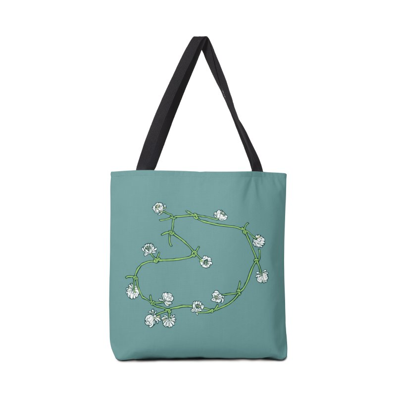Daisy Chain Accessories Tote Bag Bag by napiform clip art