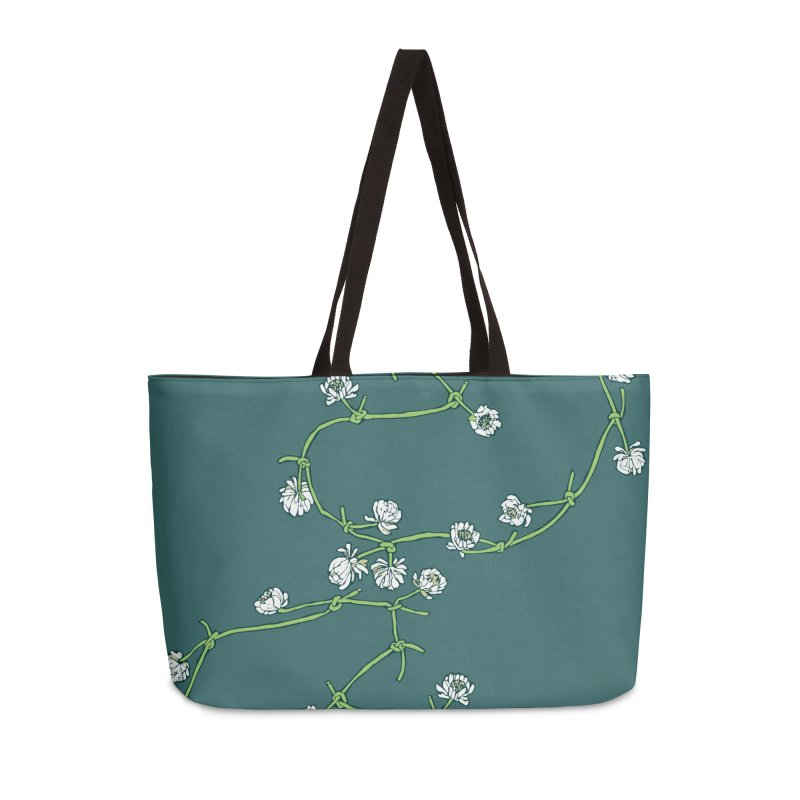 Daisy Chain Accessories Weekender Bag Bag by bad arithmetic