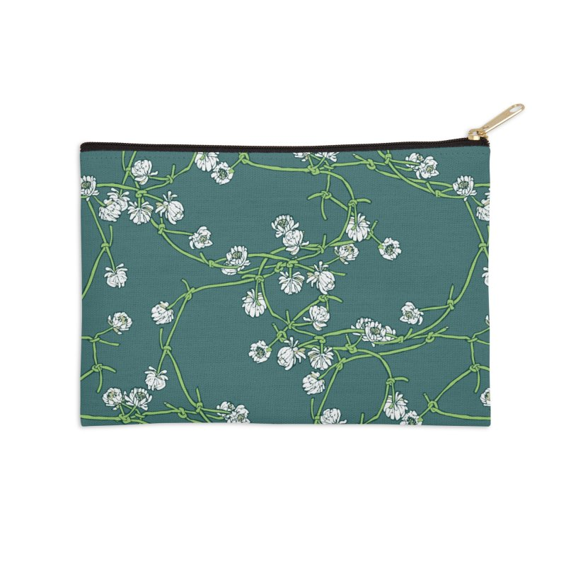 Daisy Chain Accessories Zip Pouch by bad arithmetic
