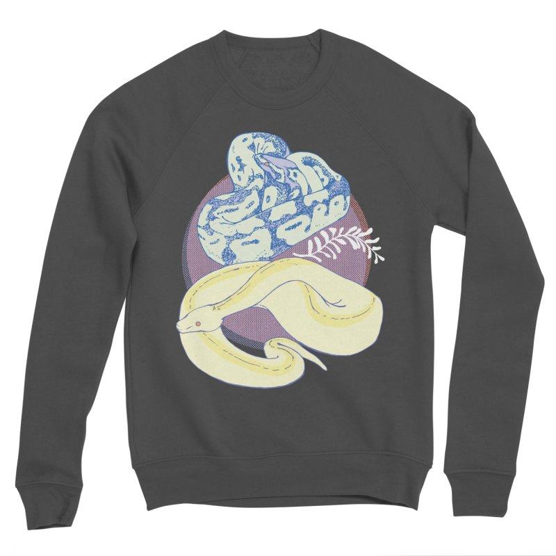 Pastel Pythons Women's Sponge Fleece Sweatshirt by bad arithmetic