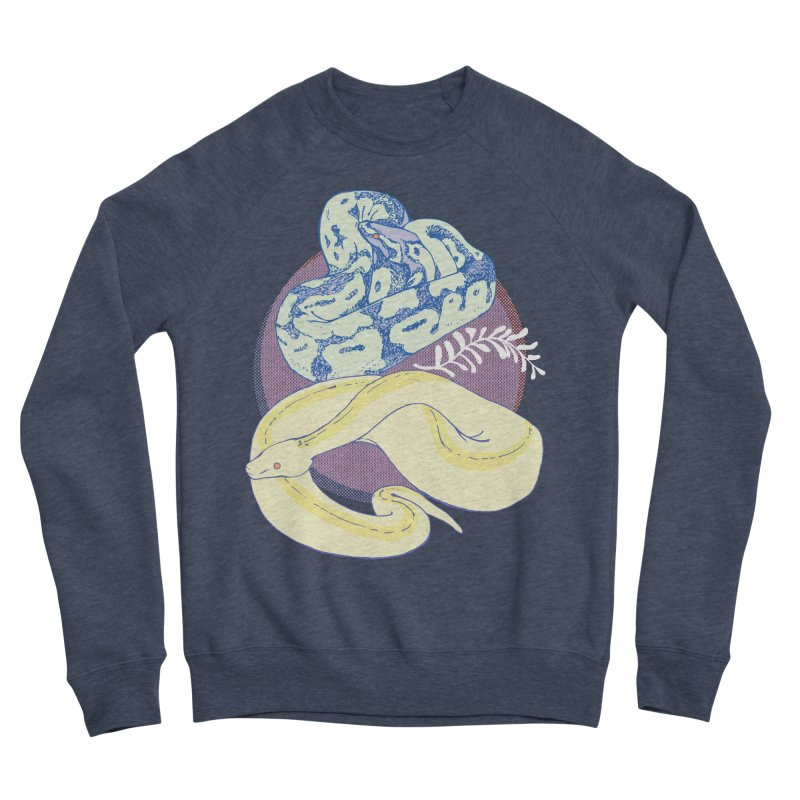 Pastel Pythons Women's Sponge Fleece Sweatshirt by bad arithmetic