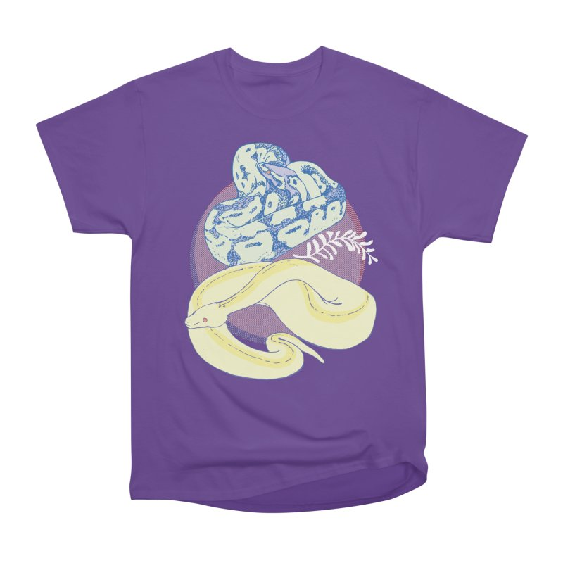 Pastel Pythons Women's Heavyweight Unisex T-Shirt by bad arithmetic