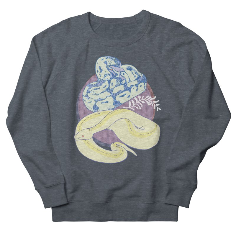 Pastel Pythons Women's French Terry Sweatshirt by bad arithmetic