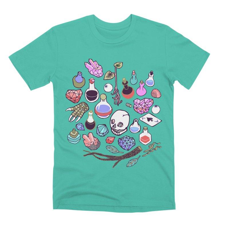 Alchemy Men's Premium T-Shirt by bad arithmetic