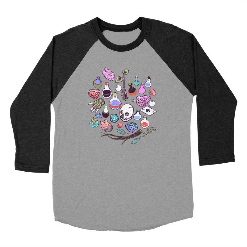 Alchemy Men's Baseball Triblend Longsleeve T-Shirt by bad arithmetic