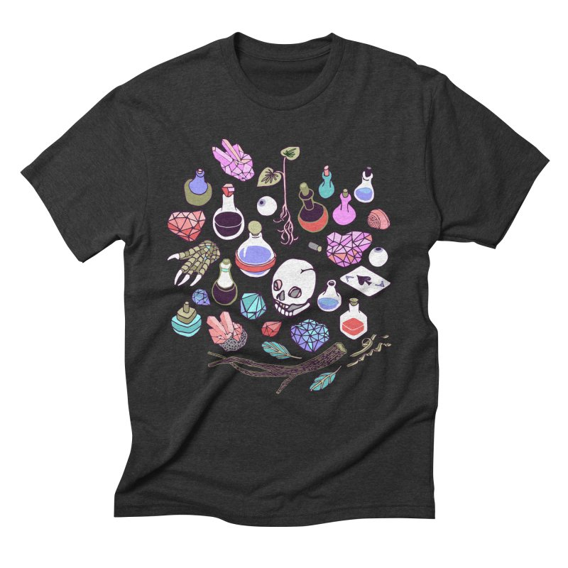 Alchemy Men's Triblend T-Shirt by bad arithmetic