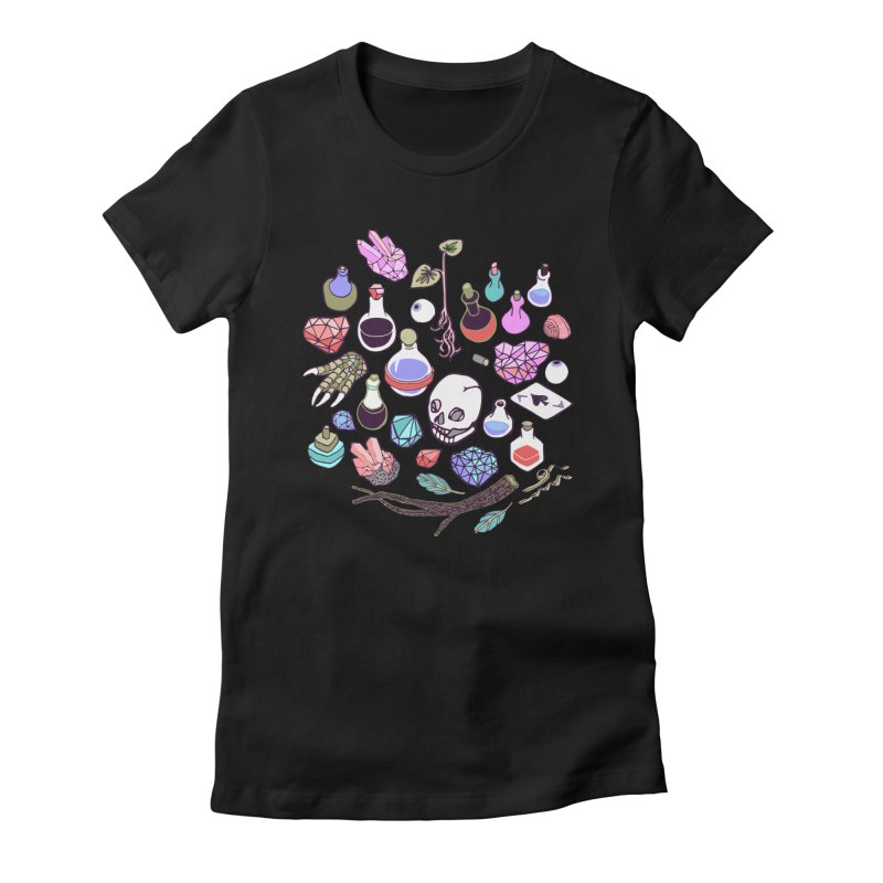 Alchemy Women's Fitted T-Shirt by bad arithmetic
