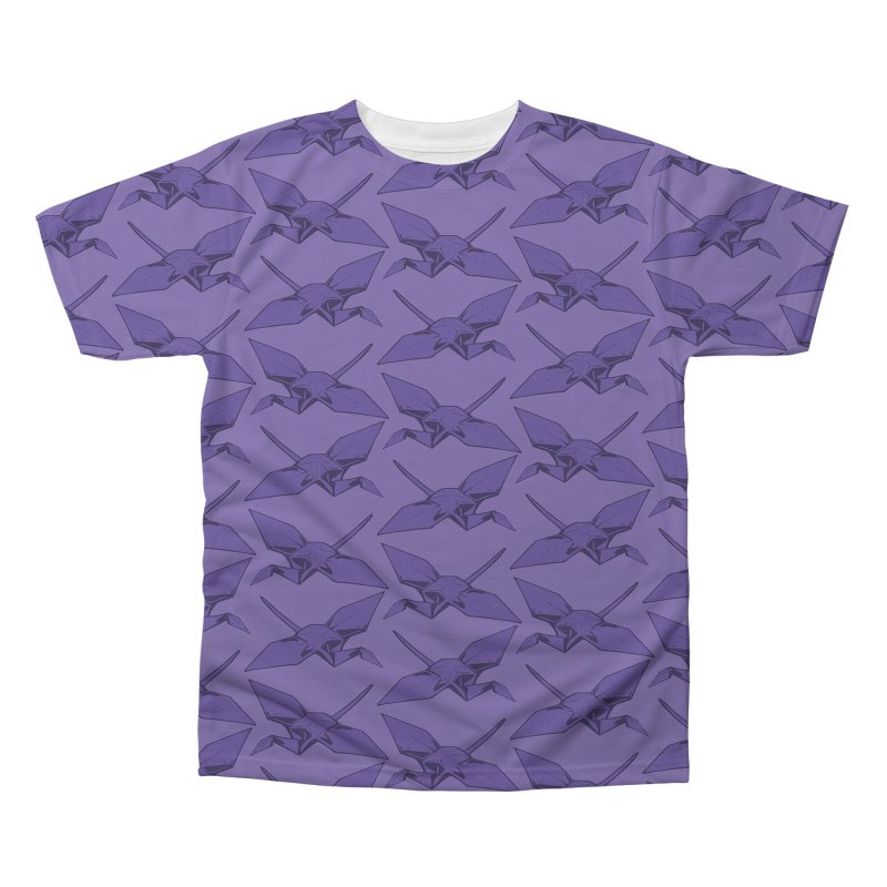 Purple Crane Men's Regular All Over Print by bad arithmetic