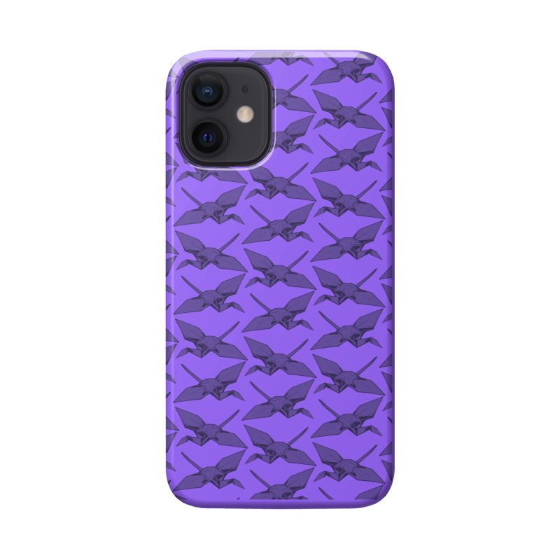 Purple Crane Accessories Phone Case by bad arithmetic