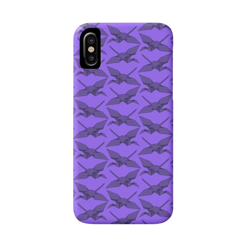 Purple Crane Accessories Phone Case by napiform clip art