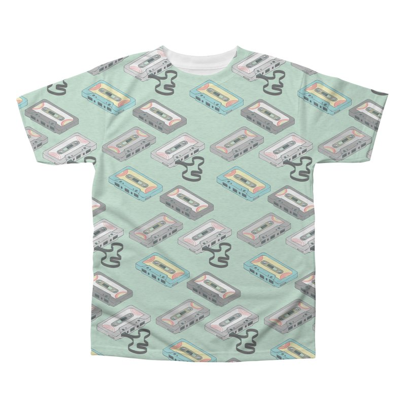 Mixtapes Men's Triblend All Over Print by bad arithmetic