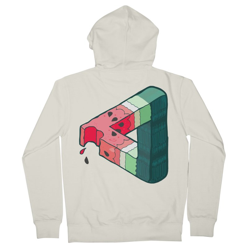 Juicy Geometry Men's French Terry Zip-Up Hoody by napiform clip art