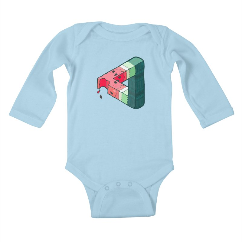 Juicy Geometry Kids Baby Longsleeve Bodysuit by napiform clip art