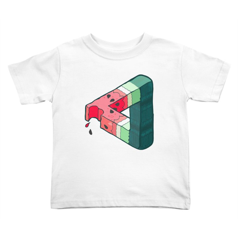 Juicy Geometry Kids Toddler T-Shirt by napiform clip art