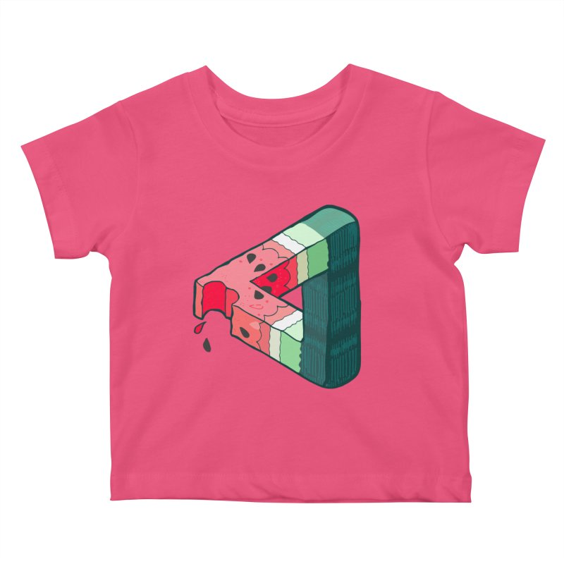 Juicy Geometry Kids Baby T-Shirt by napiform clip art