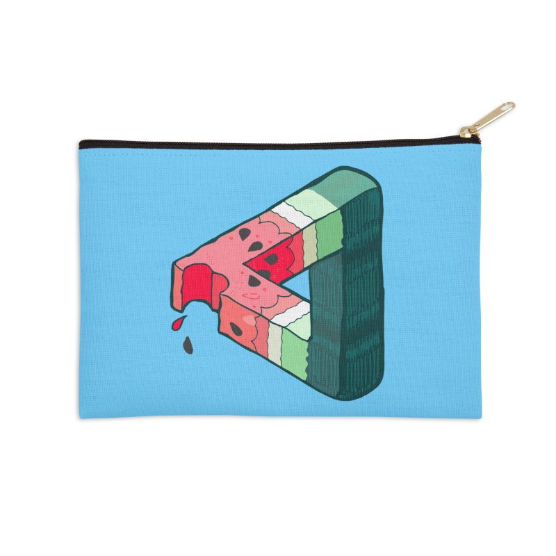 Juicy Geometry Accessories Zip Pouch by bad arithmetic