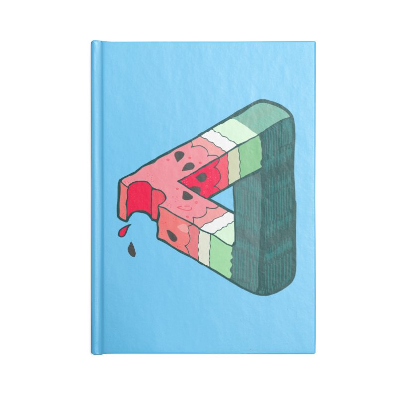 Juicy Geometry Accessories Blank Journal Notebook by bad arithmetic