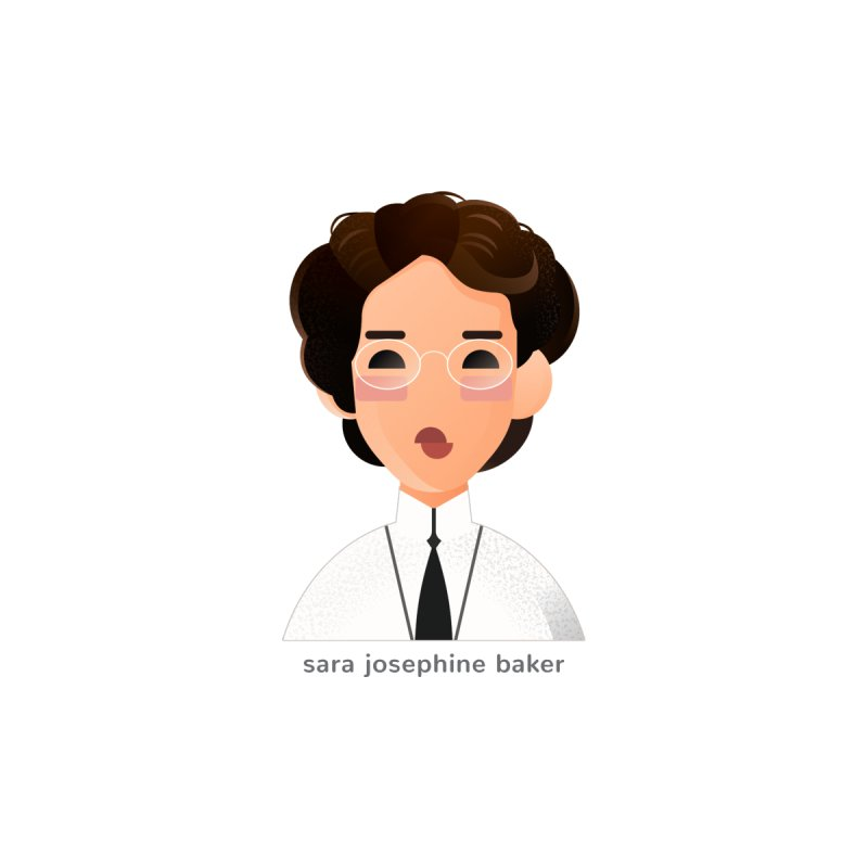 Sara Josephine Baker Women's Scoop Neck by Narrative Shop