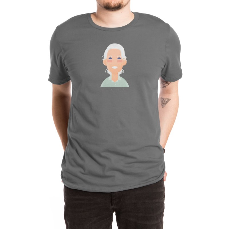 Jane Goodall Men's T-Shirt by Narrative Shop
